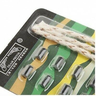 REPLACEMENT WICK ROPE & FLINT KIT PACK 4 CIGARETTE CIGAR PIPE SMOKERS LIGHTER -