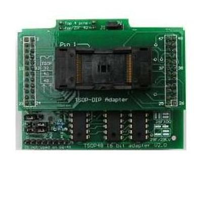 Adp-042 Tsop48 16 Bit Zif Adapter For Willem Programmer