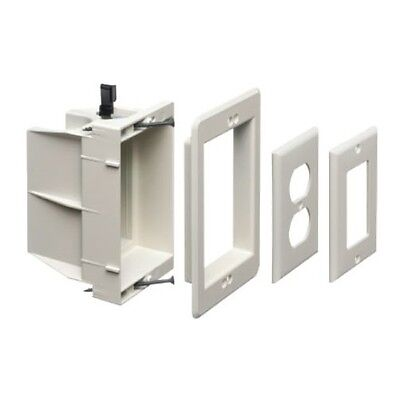 Arlington Dvfr1w-1 Recessed Electricaloutlet Mounting Box Single Gang