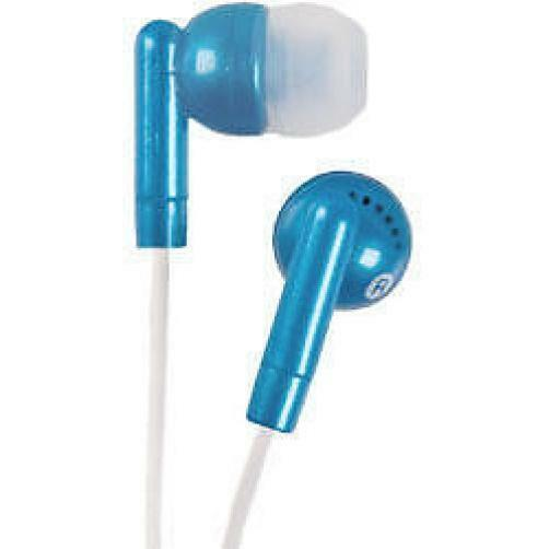 Groov-e Stereo Kandy In Ear iPod Mp3 Headphones Blue