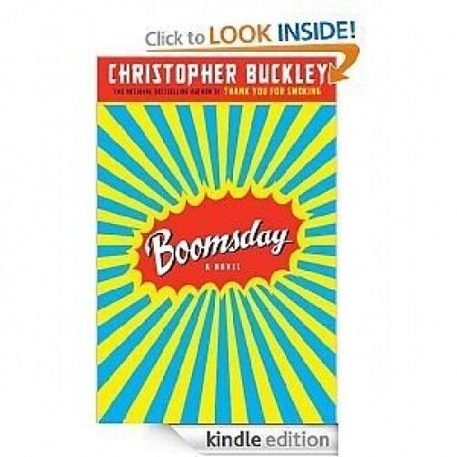 Boomsday by Christopher Buckley (2007, Unabridged, Compact Disc) IN shrink wrap