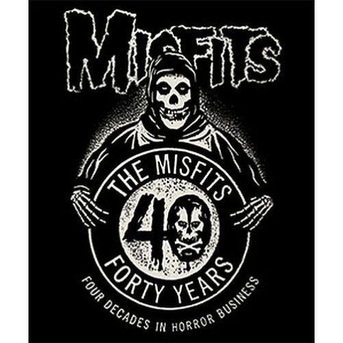 MISFITS - 40TH ANNIVERSARY - FLEECE BLANKET - BRAND NEW - 0016
