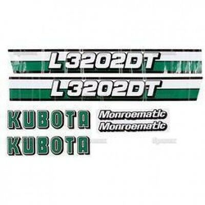 New Kubota L3202dt Decal Set