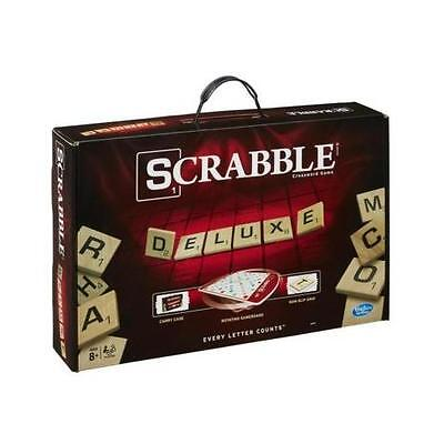 Scrabble Deluxe Edition Game by Hasbro