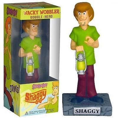 FUNKO SHAGGY FROM SCOOBY DOO WACKY WOBBLER BOBBLEHEAD NIB (Scooby Doo Wacky Wobbler)