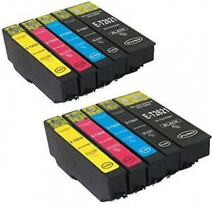 10 ink cartridges 26 xl for epson xp 510 xp 615 xp 610 xp 605 xp 600 xp 700 625 ebay. Black Bedroom Furniture Sets. Home Design Ideas
