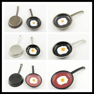 46 25 5Mm Nice Alloy Pan Egg Charm Pendant Jewelry Finding Hot Sale