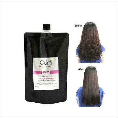 New Cure One Step Japanese Magic Hair Straightening Treatment 500g 17.64 oz