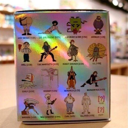 Kidrobot adult swim Series 1 TV Mini Figures RARE unopened Blind Box