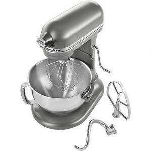 KitchenAid-Pro-600-ksm6573C-Stand-Mixer-10-speed-SILVER ...