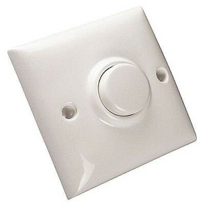 Electric Energy Saving Time Lag Light Switch Pneumatic - Timer Delay - White