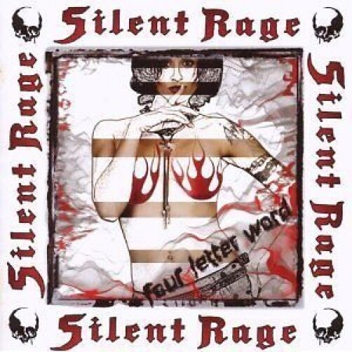 Silent Rage Four Letter Word CD NEW SEALED 2008 Metal