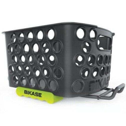 Bikase Dairyman Quick Release Rear Basket Black 13 X 10 X 5