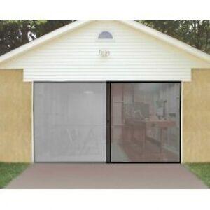 1 car single garage door screen 7 39 x 8 39 bug insect pest for 12x8 garage door