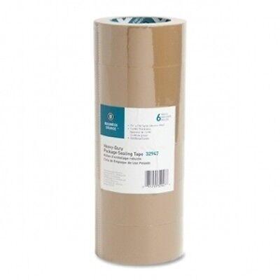 Tape 6 Rolls 2x110 Tan Packing Carton Box Sealing