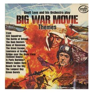 Geoff Love & His Orchestra - Big War Movie Themes (1971) Vinyl LP Record