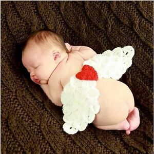 New Hand-woven little angel costume for photos