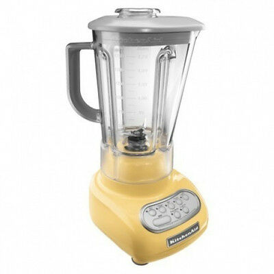 KitchenAid Yellow 5-Speed Blender RR-ksb560my unbreakable Jar Poly Carborate