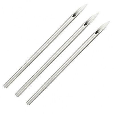 5 PC. Sterilized Body Piercing Needles (12G, 10G, 8G) - Wholesale (Body Piercing Needles)