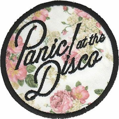 PANIC AT THE DISCO - EMBROIDERED PATCH - BRAND NEW - MUSIC BAND 4450