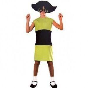 Details about Buttercup Powerpuff Girls Costume  SIZE 4-6 SMALL Powerpuff Girls Buttercup Costume
