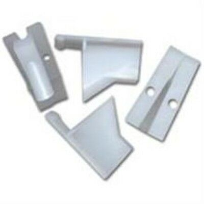 Vertical Single Coax Siding Clips Qty 100 Attach Aluminum Vinyl Steel Siding