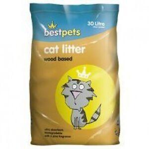 Wood Based Cat Litter Bulk