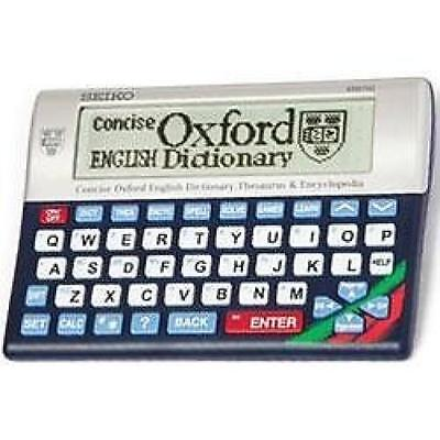 Seiko ER6700 Concise Electronic Oxford Dictionary Thesaurus & Encyclopedia Games