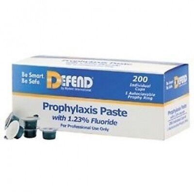 Defend Prophy Paste Medium Mint Bx200 Pp1500