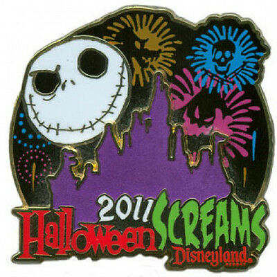 Disney Halloween Screams Nightmare Before Christmas Jack Skellington Pin LE 2000 (Disney Halloween Screams)