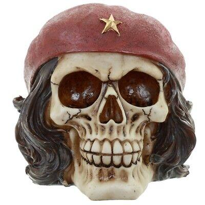 Totenkopf Skull Revolutionär Che Guevara Schädel Totenschädel Dekoschädel
