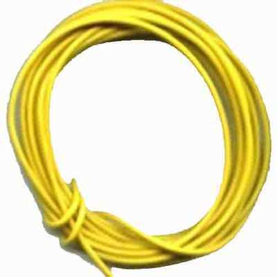 10 Ft. Yellow 22 Gauge Stranded Wire for G Gauge Scale Trains - Aristo Craft Train Parts