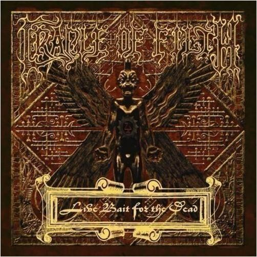 CRADLE OF FILTH - Live Bait For The Dead  (2-CD) DCD