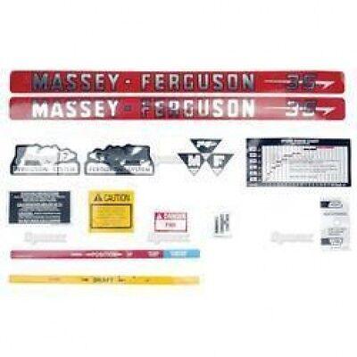 New Massey Ferguson 35 Decal Set