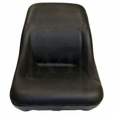 For Bobcat Skidsteer Black Vinyl Bucket Seat