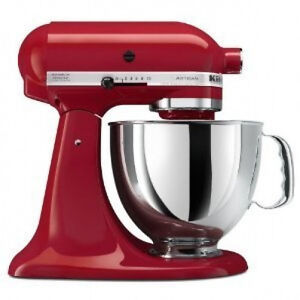 KitchenAid-Stand-Mixer-tilt-5-QT-RRK150ER-REFURB-R-Ksm150pser-Artisan-Empire-Red