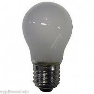Samsung fridge lamp light bulb 40w genuine 4713001201 ebay - Ampoule e27 40w ...