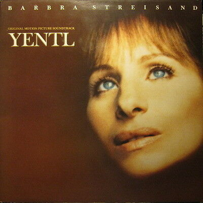 "12"" LP Barbra Streisand Yentil Original Soundtrack 80`s CBS Records"
