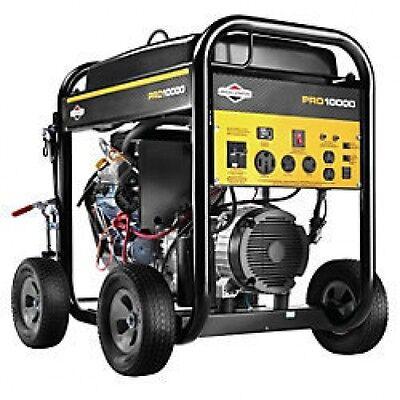 Briggs Stratton 10000 Watt Pro Series Portable Generator Es 30556