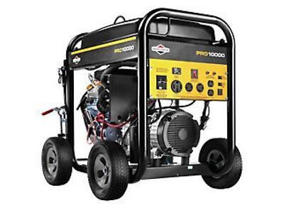 Briggs & Stratton 10000 Watt Pro Series Vest-pocket Generator ES #30556