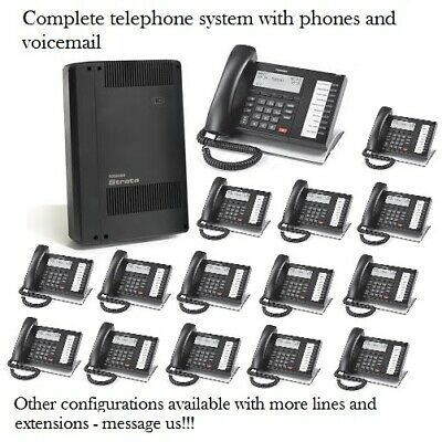 Refurbished Toshiba Cix40 Phone System 15 Dp5022sdm Phones Voicemail Gcdu2