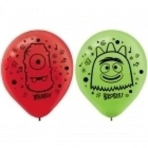 Yo Gabba Gabba Latex Party Balloons Decorations