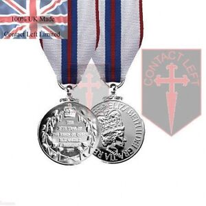 Official Queens Silver Jubilee Full Size Medal and Ribbon 1977 ( 100% UK Made