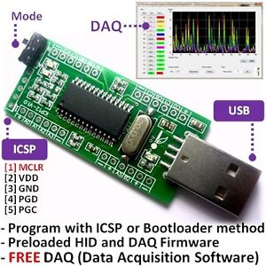 iCP12-usbStick-Microchip-PIC18F2550-IO-Development-Board-for-USB-DAQ-Logger