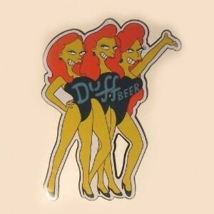 The-Simpson-Duff-Beer-Girls-Metal-Sign