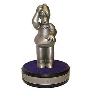 The-Simpsons-Pewter-Collection-Homerism-034-If-something-039-s-hard-to-do-034