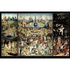 GARDEN OF EARTHLY DELIGHTS - BOSCH ART POSTER - 24x36 PRINT 0640