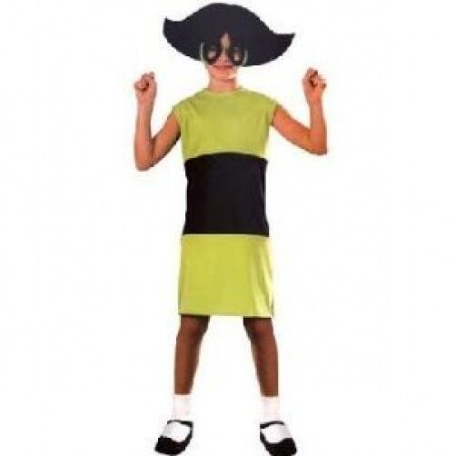 Buttercup Powerpuff Girls Costume (SIZE 2-4 TODDLER)