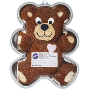 Wilton Teddy Bear Cake Pan and others
