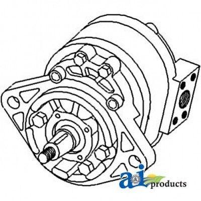 Case-ih Hydraulic Pump Assembly 544708r92
